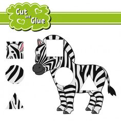 Cut and glue parts of cute cartoon monsters. Preschool Learning, Preschool Activities, Teaching Kids, Shapes Worksheets, Worksheets For Kids, Color Puzzle, Shape Pictures, Book Binder, Animal Puzzle