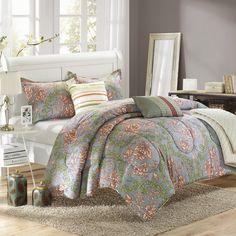 Antica 6 Piece Reversible Comforter Set