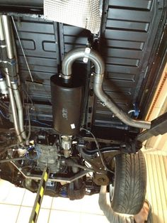 Subaru Conversion side exit: Finlay Paton (Posted on VW Subaru Hybrid Club on Facebook)