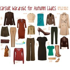 """Capsule for Autumn Ladies"" by transform-image-consulting on Polyvore"