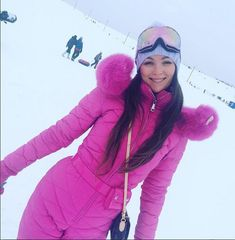 Winter Outfits, Summer Outfits, Ski Outfits, Fur Fashion, Winter Fashion, Winter Suit, Winter Gear, Down Suit, Vetement Fashion