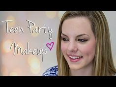 Teen Party Makeup Using Drugstore Makeup! | Makeup Geek - YouTube