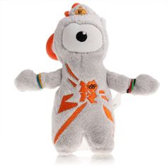 Small 2012 Lundon Olympic Games Wenlock Style Plush Toy with a hook