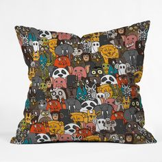 Sharon Turner Plushies Throw Pillow | DENY Designs Home Accessories