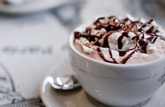 ImageFind images and videos about Hot, food and chocolate on We Heart It - the app to get lost in what you love. Chocolate Brands, I Love Chocolate, Chocolate Drizzle, Chocolate Lovers, Cocoa Chocolate, Chocolate Pictures, Unique Desserts, Coffee Cafe, Yummy Drinks