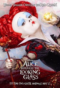 See The Magical Character Posters For 'Alice Through The Looking Glass'