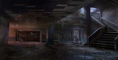 Interior - Characters & Art - The Last of Us