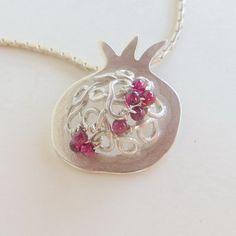 U-Boutique Shops | Pomegranate Pendant | Luly Jewelry
