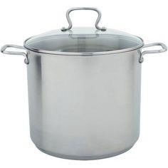Range Kleen 2-Piece Specialty 16-Quart Stock Pot, Silver