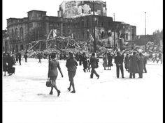 Blick vom Höfchen zum Theater, 1942. Foto: Sammlung Leiwig Mainz Germany, Theater, Louvre, Travel, Pictures, City, Photo Illustration, Viajes, Theatre