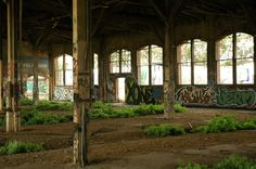Abandoned Roundhouse. Just south of San Francisco