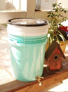 joy ever after :: details that make life loveable :: - Journal - diy bokashi bucket composting