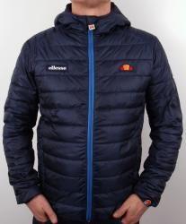 Ellesse Lombardy Puffer Jacket in Navy Blue