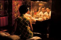 In The Mood For Love...such a beautiful film by Wong Kar Wai