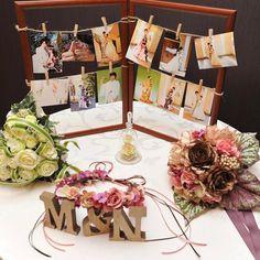 ウェルカムスペースにたくさん写真を飾る方法まとめ | marry[マリー]