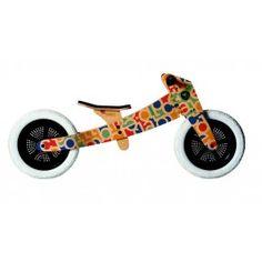 De wishbonebike is met zijn design en mogelijkheden uniek in zijn soort en geeft de kleine fietser van 1 tot en met 5 jaar een unieke speelsensatie!