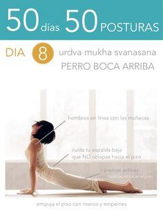 ૐ YOGA ૐ ૐ Urdva Mukha Svanasana ૐ 50 días 50 posturas. Yoga Nidra, Yoga Sequences, Yoga Poses, Iyengar Yoga, Ashtanga Yoga, Qi Gong, Pilates, Chakra, Yoga Mantras