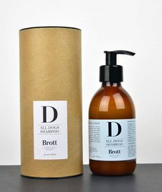 Natural Dog Care Products from Brott Barcelona