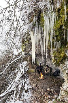 A Hugó-villa egy igazi téli menedék Börzsöny Fotó: Gulyás Attila