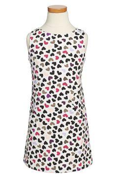 kate spade new york kids 'vivien' sleeveless dress (Toddler Girls & Little Girls) available at #Nordstrom
