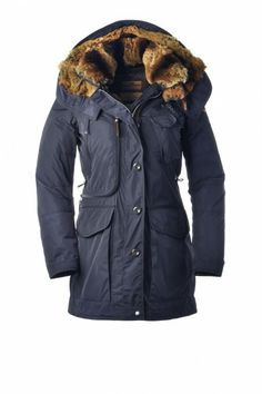 Parajumpers New Arches Woman Jacket Dark Blue