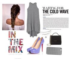 """""""Add a pop of color"""" by ambyclark on Polyvore featuring MANGO, Christian Louboutin and Givenchy"""