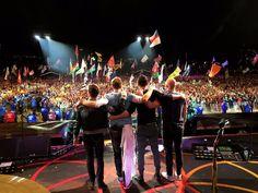 Coldplay, Glastonbury, June 2016