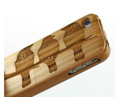 Bamboo iPhone Cover by Dick & Dora. www.dickanddora.com