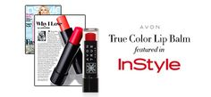 Keep your lips kissably soft w/ Avon True Color Lip Balm & pick up the February issue of the feature in InStyle magazine! #AvonRep