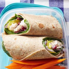 Healthy Lunch Ideas: Brown Bag Recipes