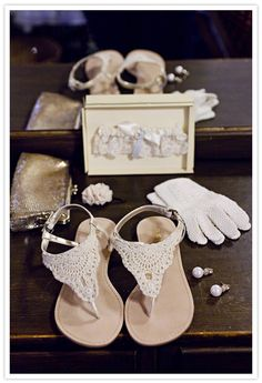 shoes for the reception!