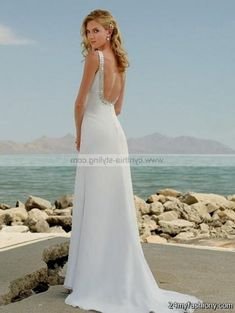 Today I have put together a wide range of simple beach wedding gown! I have been madly looking for new sort of simple beach wedding gown Shop the Wedding Dress Low Back, Beach Wedding Hair, Backless Wedding, Sexy Wedding Dresses, Elegant Wedding Dress, Cheap Wedding Dress, Bridal Dresses, Wedding Gowns, Bridesmaid Dresses
