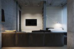 Stunning Achromatic Studio Designer: Igor Sirotov