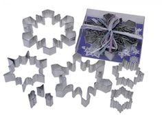 COOKIE CUTTER SET - Snowflake 8 Peices