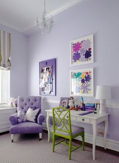 Purple Green Bedrooms On Pinterest S Rooms