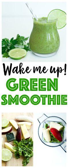 Green Smoothie Recipe | healthy | vegan | gluten-free | Paleo