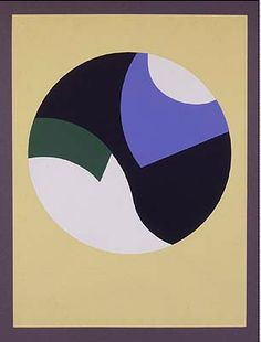 Sophie Taeuber-Arp, Composition with Circles, 1934