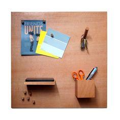 Fancy - SmorgasBoard Wooden Magnetic Bulletin Board