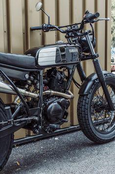Avec & Co   AVEC – Moto TW125 #17 Motorcycle Store, Tracker Motorcycle, Bobber Motorcycle, Yamaha Tw 125, Yamaha Rx100, Bike Pic, Tank Design, Bike Style, Mini Bike