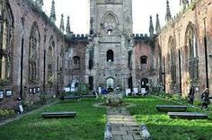 The 'bombed out church' has just been funded,popular for outdoor shows,movies etc