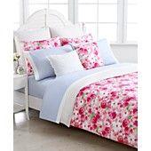 Tommy Hilfiger Bedding, Rose Cottage Comforter and Duvet Cover Sets $100 duvet cover and one sham, $109 comforter and 2 shams