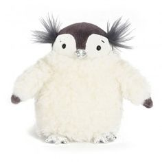 Divine Penguin has come to visit Utility, all the way from the North Pole! Beautiful soft toy for kids. Suitable from 12 months.