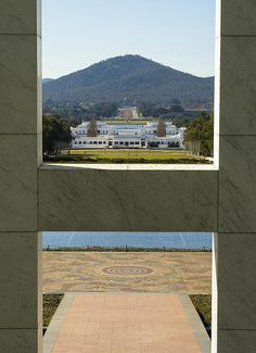 Title Canberra - Parliament House View Artist Steven Ralser Medium Photograph - Photography