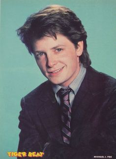 "Michael J. Fox, ""Family Ties"""