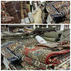"Digging through mountains and runways for the best and most beautiful oriental rugs is not for the weary!  Can't wait to display the ""art you can tread on"" for you guys to select from!  I love that we are able to work and play among the most appealing, functional, practical, all natural form of quality investment!"