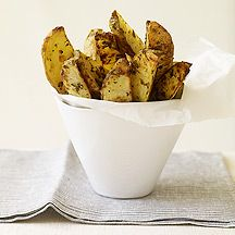 Roasted Herb Potato Wedges - 3 Points