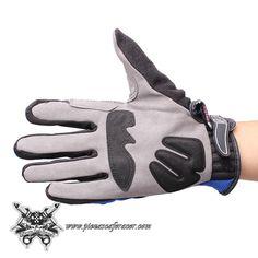 15,42€ - ENVÍO GRATIS - Guantes Tácticos Para Piloto Moto con Protector en los Nudillos y Dedos Color Azul