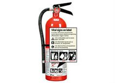 An aerosol fire spray is no substitute for a fire extinguisher .