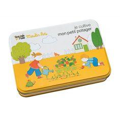 "#Kit potager ""Le #Jardin du Moulin"" par Moulin Roty. #kitpotager #kitjardinière #légumes #repas"