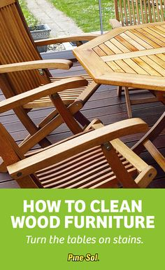 Get tips on how to clean wood furniture. Gloss up and clean wood paneling and furniture with a simple Pine-Sol® solution. Learn how right here!